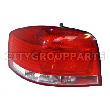 AUDI A3 8P 3 DOOR 2003 TO 2008 REAR PASSENGER SIDE TAIL LIGHT LAMP CLUSTER LENS